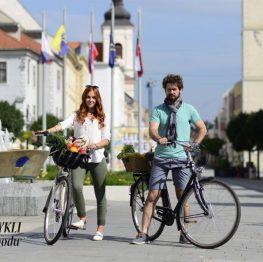 Na bicykli do obchodu