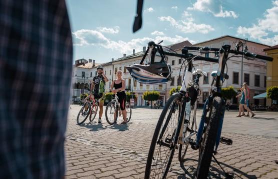 Cyklisti v mestách